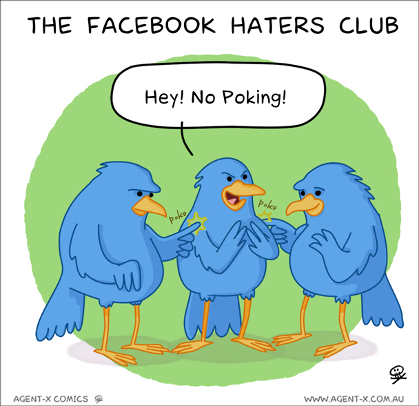 facebook haters club