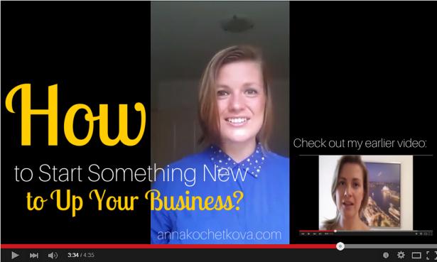 Anna Kochetkova: how to up your business